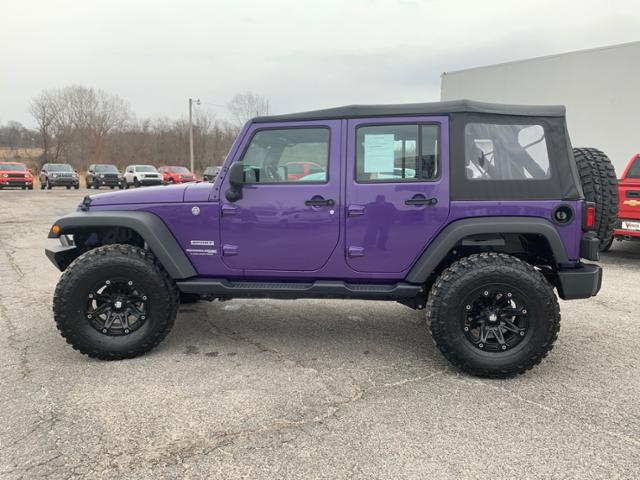 Pre-Owned 2018 Jeep Wrangler Unlimited JK Sport 4x4