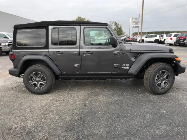 New 2018 JEEP Wrangler Unlimited Sport S 4x4