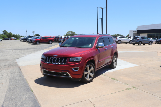 Pre-Owned 2014 Jeep Grand Cherokee 4WD 4dr Overland