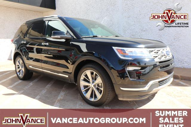 Pre-Owned 2018 Ford Explorer Limited FWD