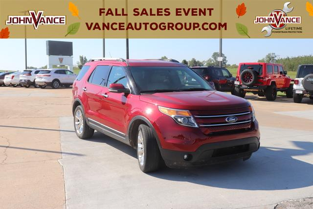 Pre-Owned 2013 Ford Explorer FWD 4dr Limited