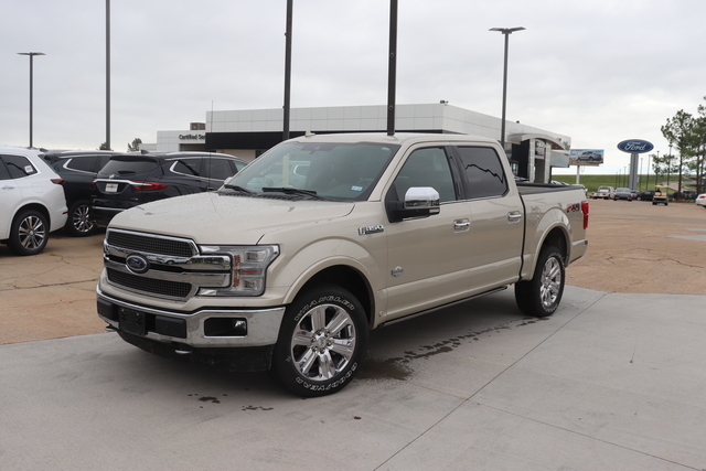 Pre-Owned 2018 Ford F-150 King Ranch 4WD SuperCrew 5.5' Box