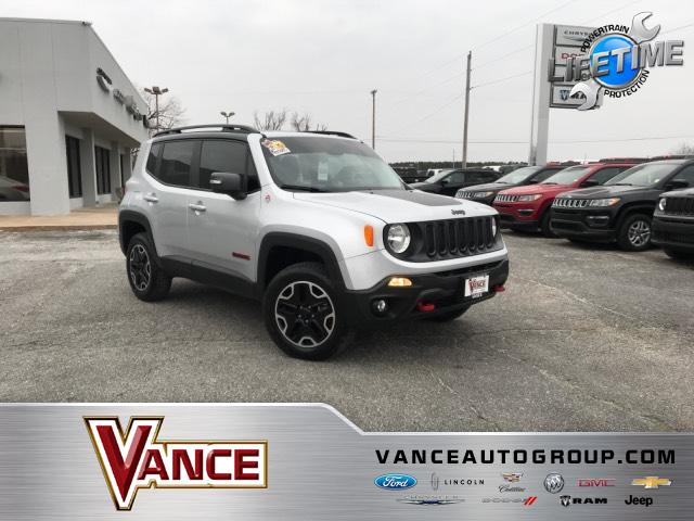 Pre-Owned 2016 Jeep Renegade 4WD 4dr Trailhawk