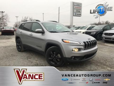 Pre-Owned 2015 Jeep Cherokee 4WD 4dr Latitude Altitude