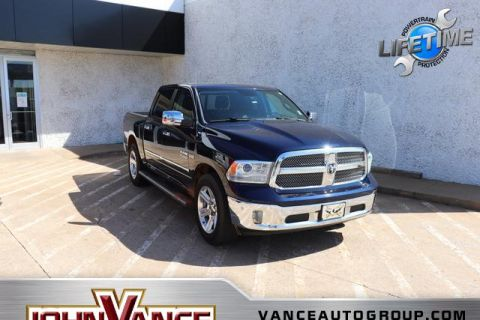 Pre-Owned 2014 Ram 1500 4WD Crew Cab 140.5 Longhorn Limite