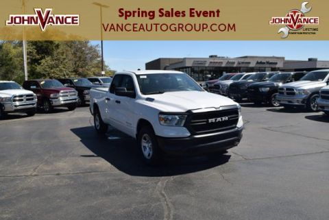 New 2019 RAM 1500 Tradesman 4x2 Quad Cab 6'4 Box