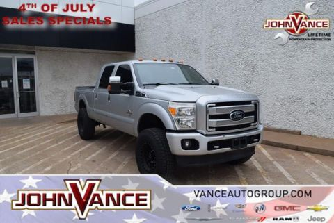 Pre-Owned 2014 Ford Super Duty F-250 SRW 4WD Crew Cab 156 Platinum