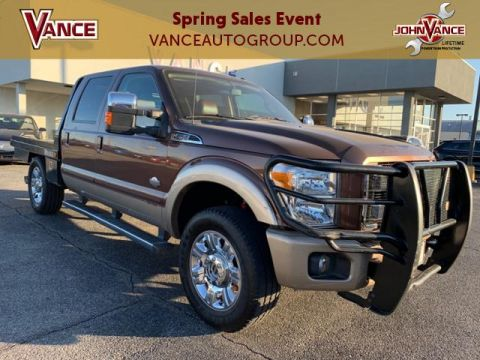 Pre-Owned 2012 Ford Super Duty F-250 SRW 4WD Crew Cab 156 King Ranch