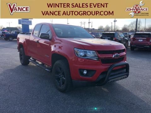 Pre-Owned 2018 Chevrolet Colorado 4WD Ext Cab 128.3 LT