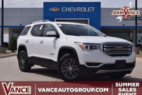 Pre-Owned 2018 GMC Acadia FWD 4dr SLT w/SLT-1